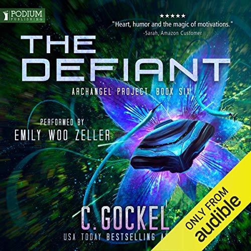 The Defiant audiobook cover art