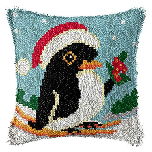 Verriegelungshaken Kissen Kits Vögel Kissenbezug Häkeln DIY Garn Für Stickerei Kissenbezug Schlafsofa Bett Kissen