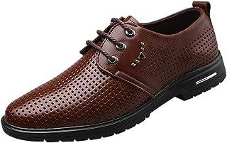 Zzzz Chaussures d'uniformes habillées,Chaussure en Cuir de Mariage Habillé de Costume d'affaire Commercial Pointue Homme C...
