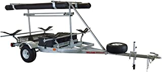 Malone Auto Racks 2 boat ultimate angler trailer package - MegaWing
