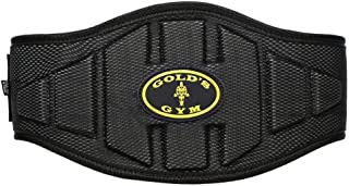 "God's Gym Back Support Belt - 6"""""""", Black"