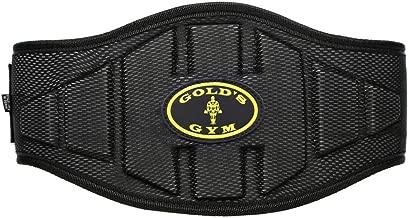 """God's Gym Back Support Belt - 6"""""""""""""""", Black"""