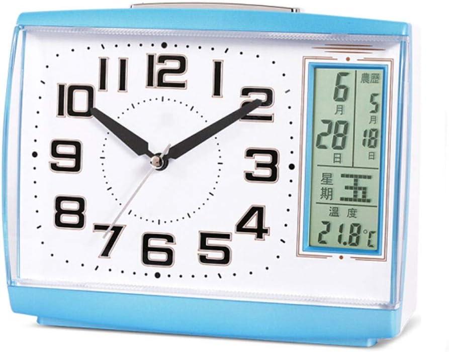 kerryshop Table Clocks Luxury shop Calendar Creative Clock Phoenix Mall Alarm Mute