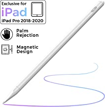 Stylus Pen for iPad with Palm Rejection, iPad Pencil with Magnetic Design for (2018-2020) Apple iPad, iPad (6/7 Gen)/iPad Pro (11/12.9 inch)/iPad Mini Gen 5/iPad Air Gen 3, Rechargeable Active Stylus
