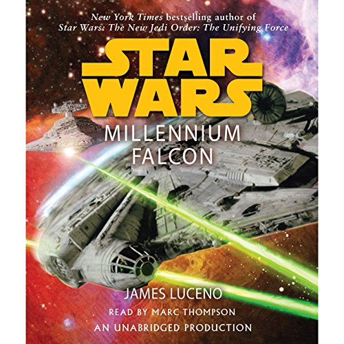 Star Wars: Millennium Falcon audiobook cover art