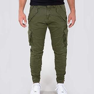 ALPHA INDUSTRIES Combat LW Dark Olive Men's Trousers