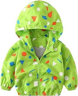Sameno Children Coat, Kids Girls Boys Baby Dinosaur Hoodie Autumn Jacket Windbreaker Outerwear