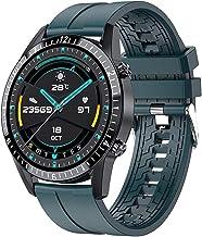 Smart Horloge Bluetooth Call Telefoon Smartwatch Hartslag Mannen Sport (Kleur: TPU Rood)
