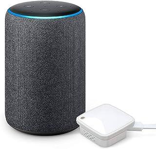 Echo Plus (エコープラス) 第2世代 - スマートスピーカー with Alexa、チャコール + ラトックシステム スマート家電リモコン スマホで家電をコントロール RS-WFIREX4