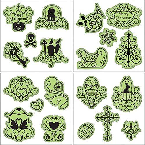 Inkadinkado Stamping Gear Stamp Set-Holiday