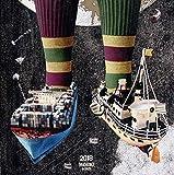 理想の靴下と船