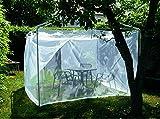 Brettschneider Mosquito Net - Lona para Tienda de campaña Color Blanco Talla 3 x 3 x 2,2 m