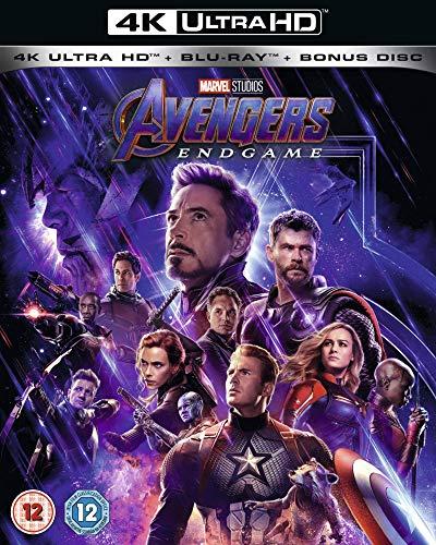Avengers: Endgame 4K Includes Bonus Disk [Blu-ray] [2019] [Region Free]