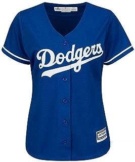 Majestic Los Angeles Dodgers Womens Jersey Blue (Medium)