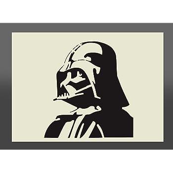 """Bastelset Airbrush Studio /"""" Star Wars Darth Vader /"""" Textilen für Kinder"""