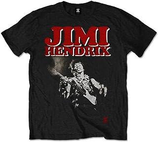JIMI HENDRIX ジミヘンドリックス (WOODSTOCK 50周年記念) - Block Logo/Tシャツ/メンズ 【公式/オフィシャル】