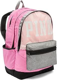 Pink Campus Backpack Multi Pink Grey