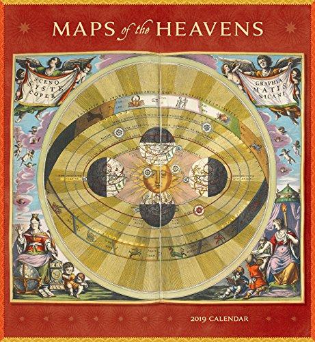 Maps of the Heavens 2019 Wall Calendar