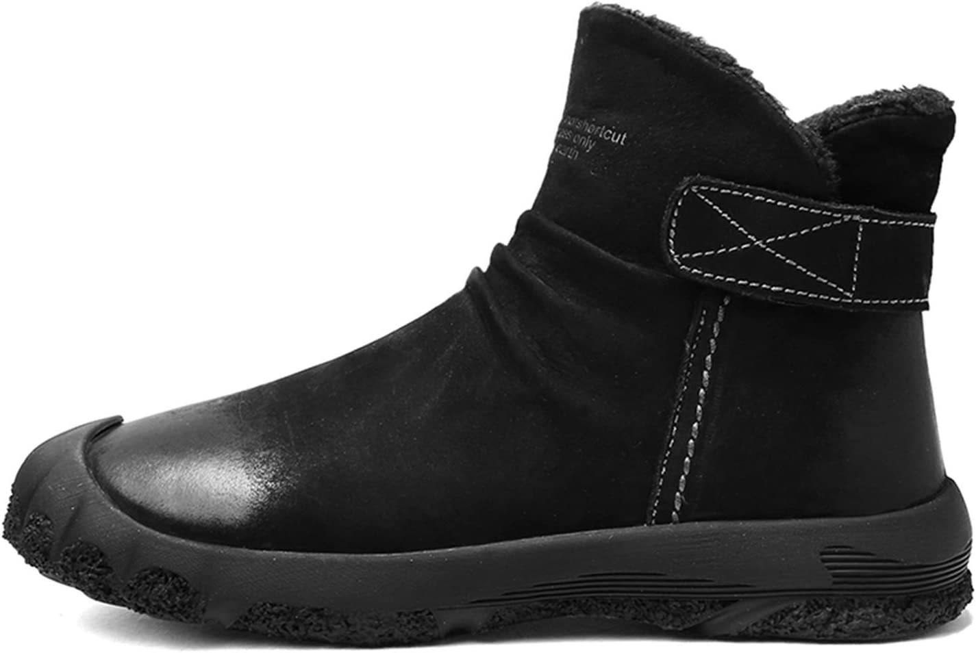 Men's Hiking Indianapolis Mall Boots Round Toe Leather Jacksonville Mall high-top Synthetic Oversho