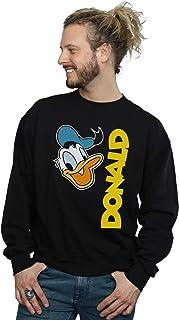 Disney Men's Donald Duck Greetings Sweatshirt