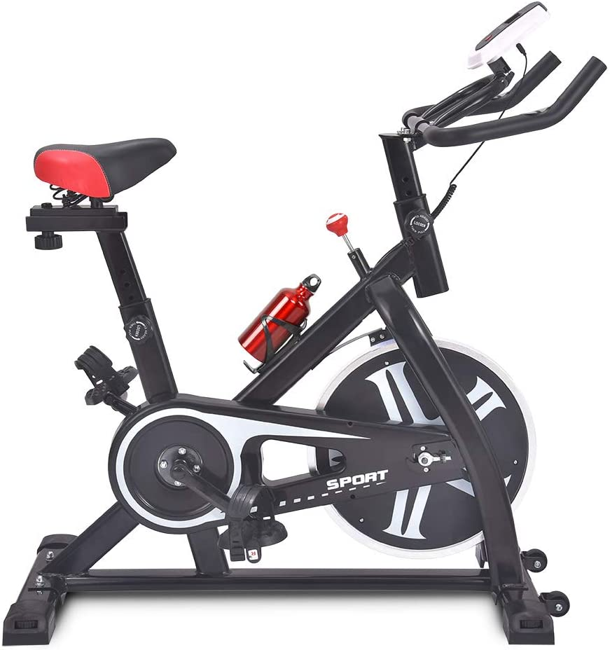 CAMORSA Upgrade Max 61% OFF Rapid rise Exercise Bike Indoor Stationary Cycling Cyc