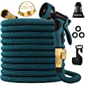 Kegemor 100 ft. Expandable Garden Hose w/ 9 Function Spray Nozzle