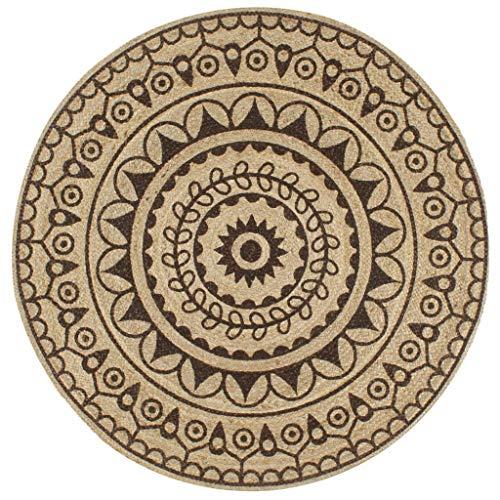 Alfombras Redondas 150 Cm alfombras redondas  Marca UnfadeMemory