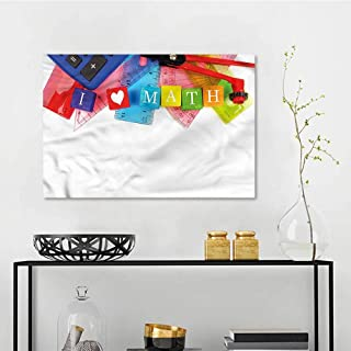 Amazon Com I Love Math Wall Art Home Kitchen