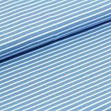 Bio Jersey Streifen 0,5 m x 160 cm/Meterware (Stonewashed)