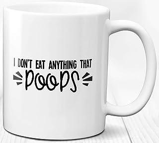 Taza de café con cita vegana Vegan Life Regalo de amante de los animales 330 ml Taza de cerámica