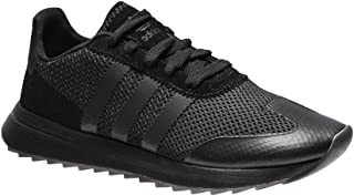 adidas Originals Womens FLB Lace Up Casual Trainers Shoes - Black