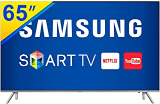 TV 65 Polegadas LED 4K Smart WIFI USB HDMI - UN65MU7000GXZD, Samsung Audio e Video