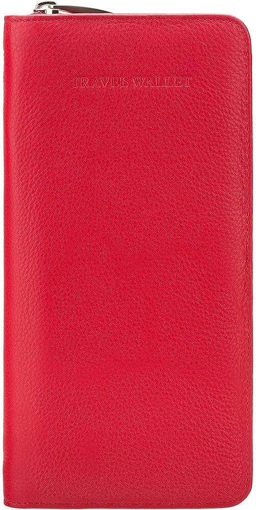 Visconti, portafoglio,porta documenti, porta carte di credito, in pelle