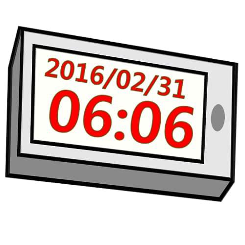 Simple Digital Table Clock