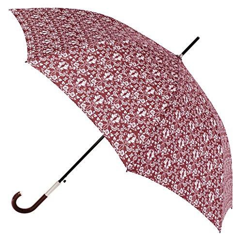 Si te apasiona la armonía de los Estampados Estilo provenzal, aquí Tienes Nuestra colección de Paraguas Largos Vogue Inspirada en Esta Tendencia. Apertura automática. (Estampado en Rojo)
