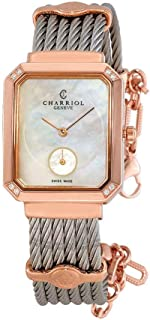 St-Tropez Diamond White Mother of Pearl Dial Ladies Watch STREPD2.560.004