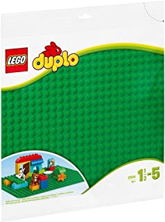 DUPLO Classic LEGO DUPLO Large Green Building Plate for age 1.5+ years old 2304
