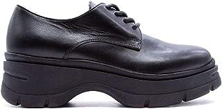 JANET&JANET Luxury Fashion Womens 44785NERO Black Lace-Up Shoes | Fall Winter 19