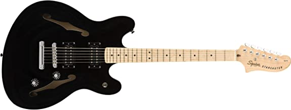 Squier by Fender Affinity Starcaster - Maple Fingerboard - Black