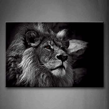 Lion-Water Reflection Painting Print Design Gym Bag