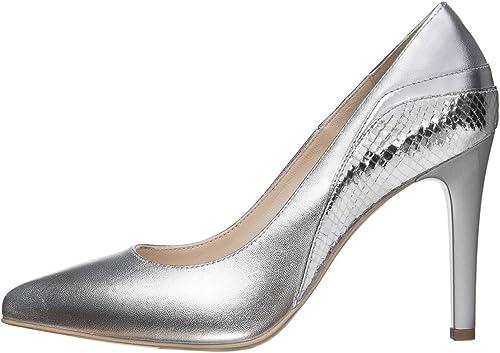 Nero giardini scarpe per donna con il tacco a spillo décolleté in pelle E011054DE 700