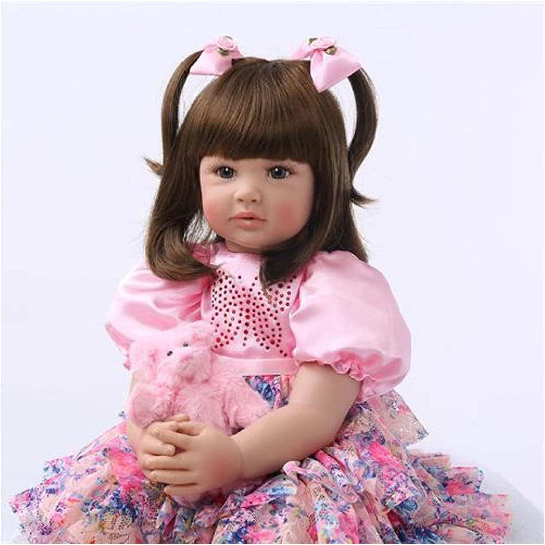 YANRU Babies Reborn - 24in Baby Nippon regular agency Vinyl Sale special price Girls for Silicone Dolls