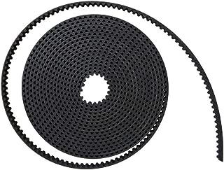 JHCHMX HTD 3M PU Timing Transmission Belt Open Belt 3M 15mm - 35mm for CO2 Laser Engraving Cutting Machine (Width 25mm)
