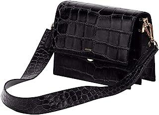 Small Crossbody Bag for Women Vegan Leather Retro...