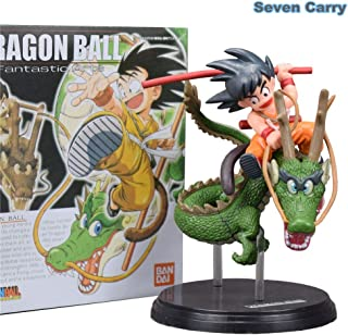 MAI PHUONGass Anime Z Super Saiyan Goku with Dragon Riding PVC Action Figures Collection Model Toys Doll 15Cm 1Pcs Baby Boy Must Haves Friendship Gifts The Favourite DVD Superhero Stickers