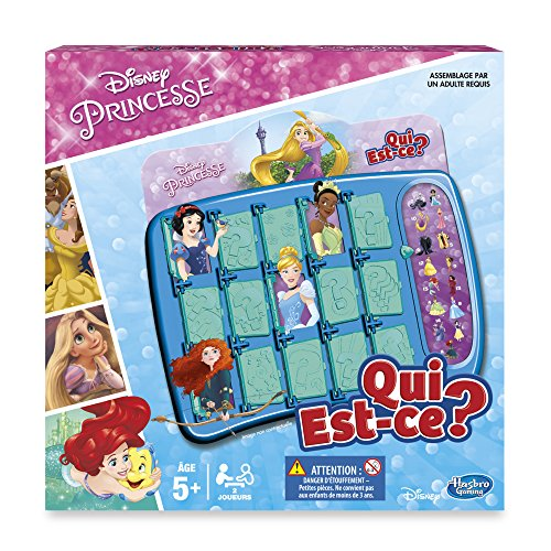 Hasbro - B8617 - Qui Est-Ce - Princesses