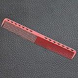 1pcs Kits de peines profesionales para el cabello Salon Barber Peine Cepillos Cepillo antiestático para el cabello Cuidado del cabello Herramientas de peinado Set kit para cabello Salo-rojo