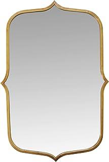 "Stratton Home Décor Stratton Home Decor 36"" Hillary Metal Mirror, Antique Gold"