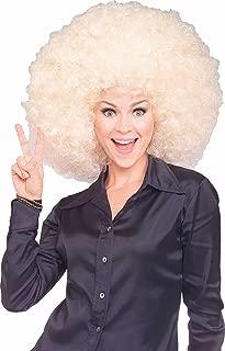 blonde clown wig