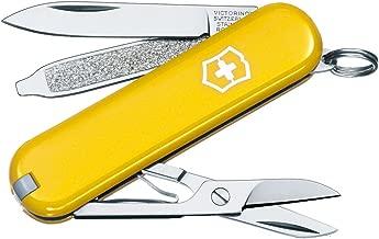 Victorinox - Coltellino tascabile Classic SD, colore Giallo, taglia unica